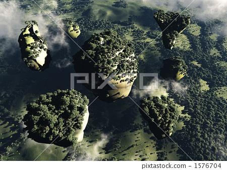 Illusory world (floating rock group) 1576704