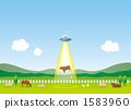 牧場 外星人 外國人 1583960