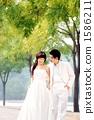 新郎 新娘 婚禮 1586211