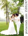 新郎 婚紗 新娘 1586247