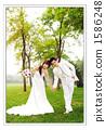 新郎 婚紗 新娘 1586248