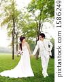 新郎 新娘 婚禮 1586249