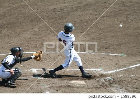 mitt, batter, catcher 1588590