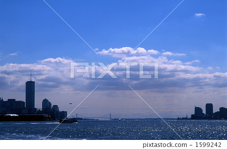 World Trade Center and Hudson River 1599242