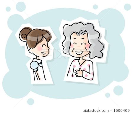 Nurse and grandma 1600409