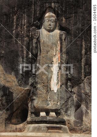 The Buddha statue of Buduragara rock Buddha statue of Buddha Buddha 1604495