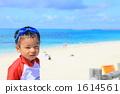 sea, bathing, suit 1614561