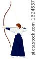 japanese bow, archery, archery range 1624837