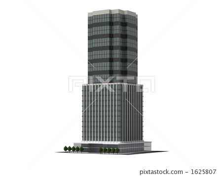부동산, 주상복합빌딩, 사무실 1625807