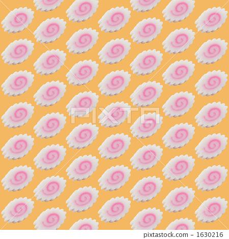 나루토 감기를 늘어 놓은 바탕 무늬 패턴 1630216