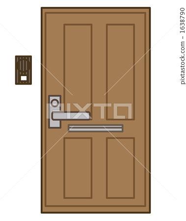 Entrance door 1638790