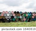 钢桶 工业垃圾 金属 1640819