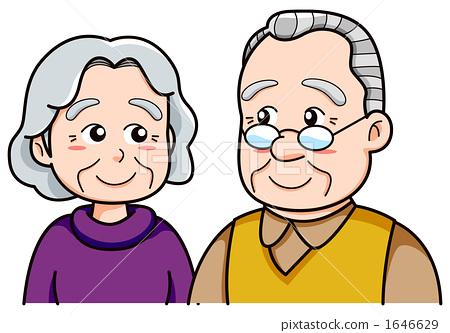 노인 부부 1646629