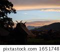 在黃昏和Yorii神社 1651748