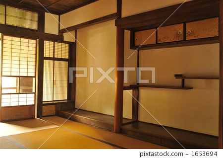 照片素材(圖片): 壁龕 日式房間 和室