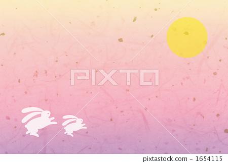 묘, 토끼, 달 1654115