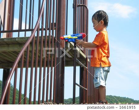 water pistol, water gun, baby boy 1661955