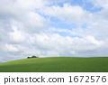 farm, field, hill 1672576