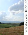 farm, field, hill 1672577