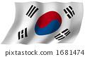 韩国国旗 1681474
