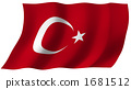 Flag of Turkey 1681512