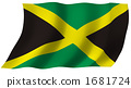 Flag of Jamaica 1681724