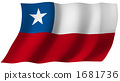 Flag of Chile 1681736