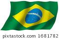 Brazilian flag 1681782