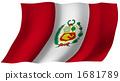 Flag of Peru 1681789