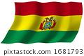 玻利維亞的旗幟 1681793