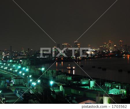 Night view of Osaka 1703562
