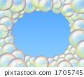 frame, blue sky, foxtail millet 1705745