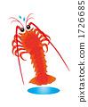 海洋动物 大螯虾 海鲜 1726685