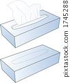 Box Tissue Simple 1745288