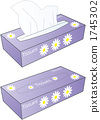 Box Tissue Purple 1745302