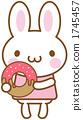 兔子甜甜圈 1745457