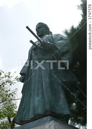 Hijikata Kozo statue 1747578