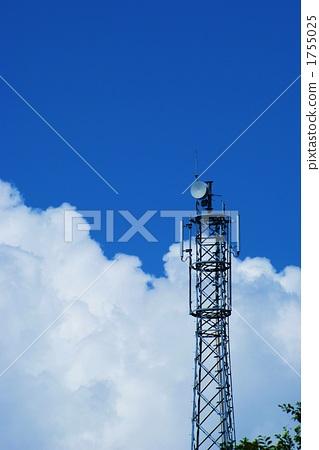 적운, 철탑, 흰 구름 1755025