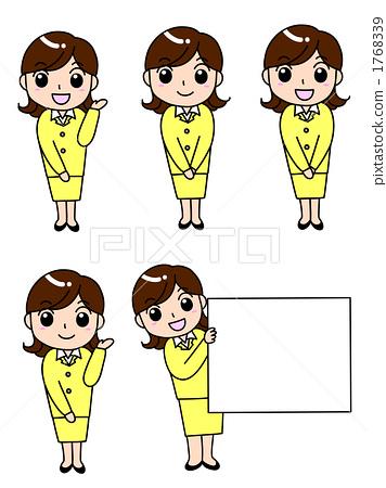 Suit female 5 patterns 1768339