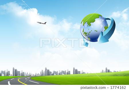 글로벌 도시 _k_562838 1774162
