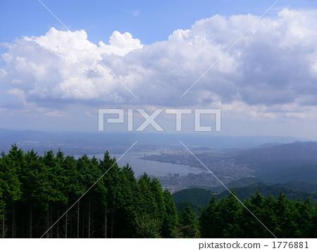 View of Lake Biwa from Mount Hiei 1776881