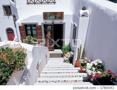 Santorini island of the Aegean Sea 1780091