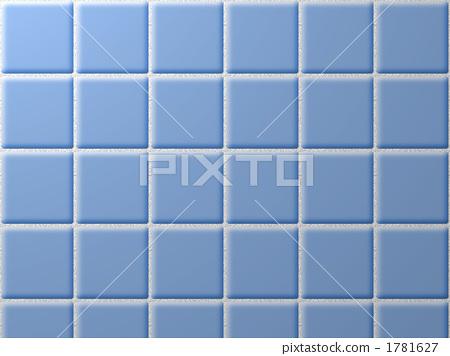 타일 (블루 단색) 1781627