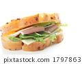 햄과 치즈 샌드위치 1797863