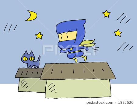 Running ninja background 1823620