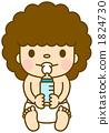 婴儿奶瓶坐 1824730