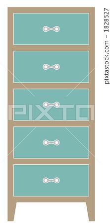 5 stage shelf · blue 1828527