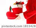 圣诞节圣诞老人靴子和礼物1 1833428