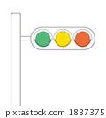 交通信號 交通燈 紅綠燈 1837375