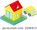 家和汽车 1848423